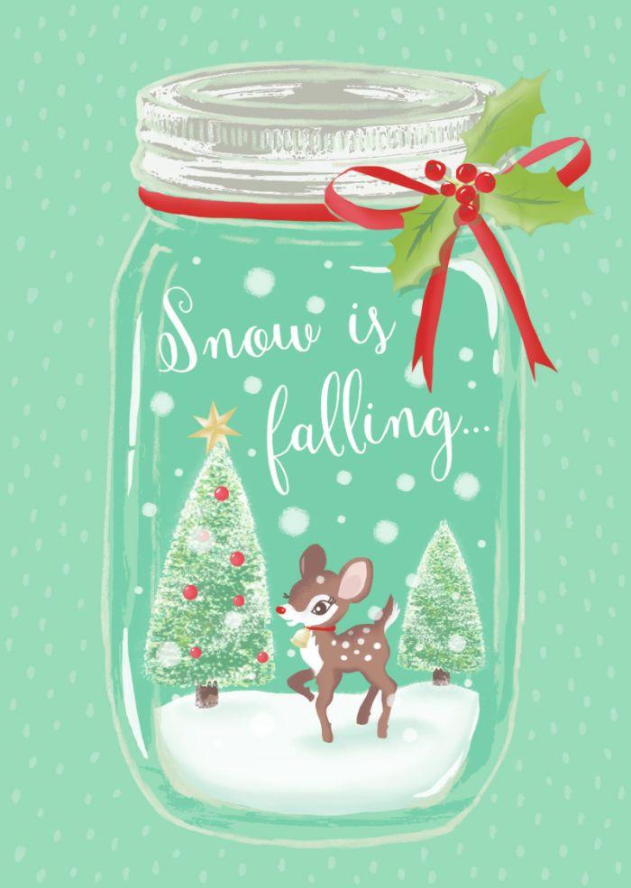 Phone Celular Wallpaper Claire Mcelfatrick Snow Jar