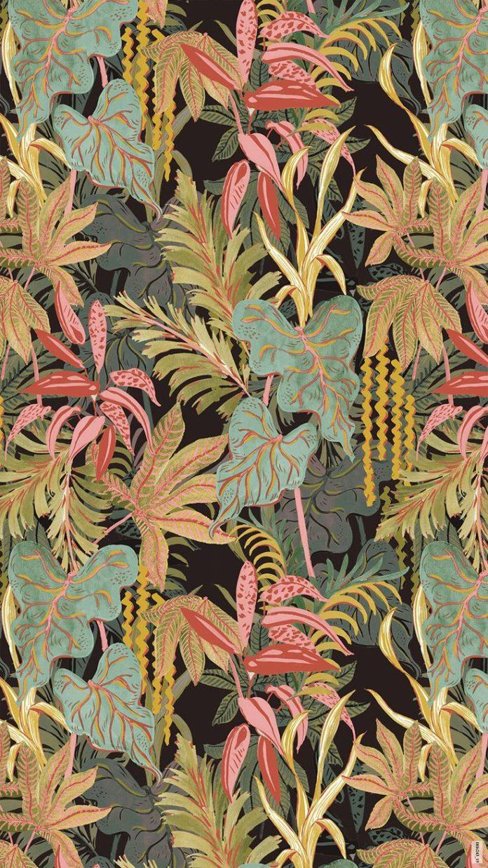 Lush floral print