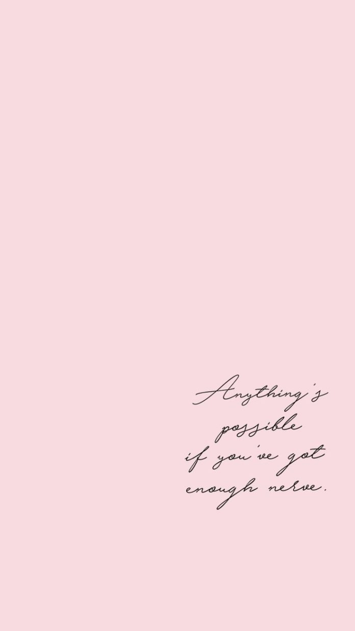 Motivational quote - iPhone wallpaper by Paolo Chua in collaboration with Kaila ...