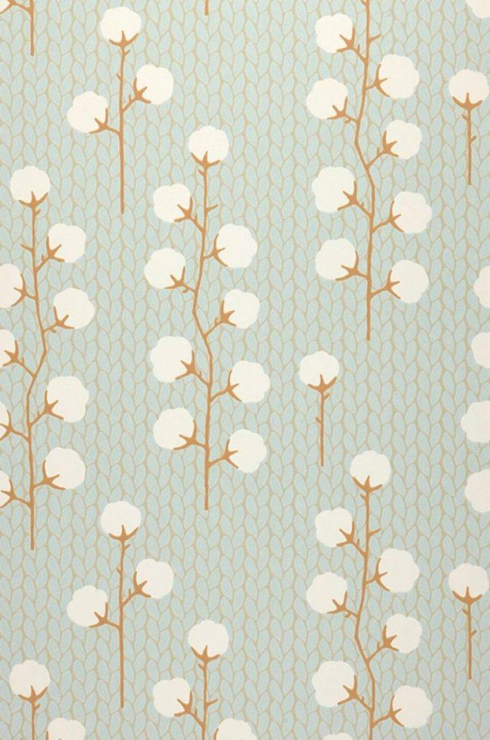 Sweet Cotton   Papier peint nouveauté   Motifs du papier peint   Papier peint d...