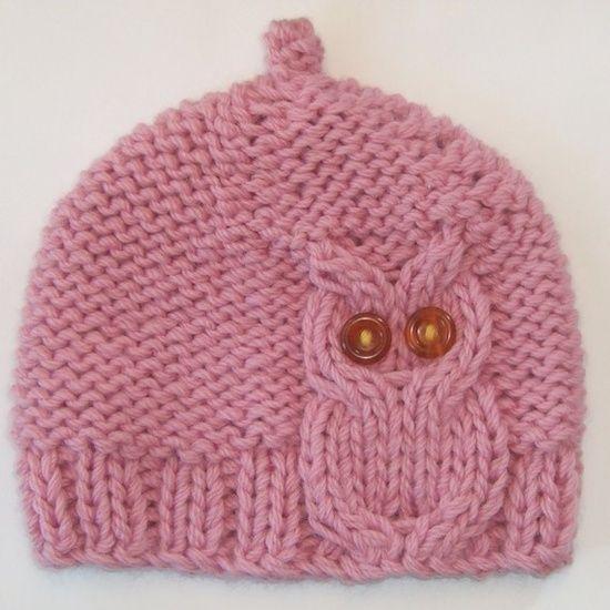 Desktop Wallpaper Owl Knit Hat Cute For A Baby Hat Im Sure I