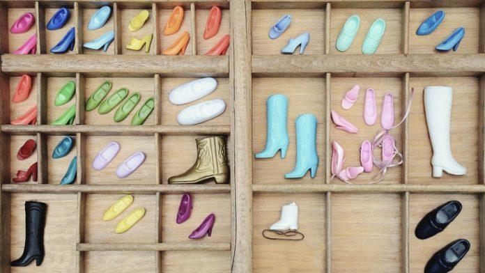 barbie shoes... nostalgia