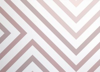 The Cypress Dusky Pink Striped Wall Mural is a wonderfully sophisticated design ...