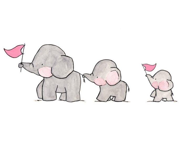 3 elefantes alegram muito mais