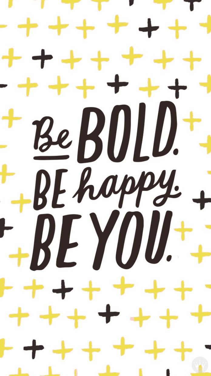 A motivational quote to remind you of how important it is to be YOU!