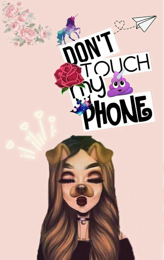 Phone Celular Wallpaper Dont Touch My Phone Wallpaperartnet