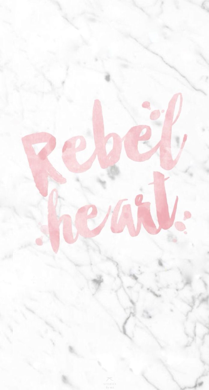 Marble Rebel Heart ★ Find more inspirational wallpapers for your #iPhone + #An...