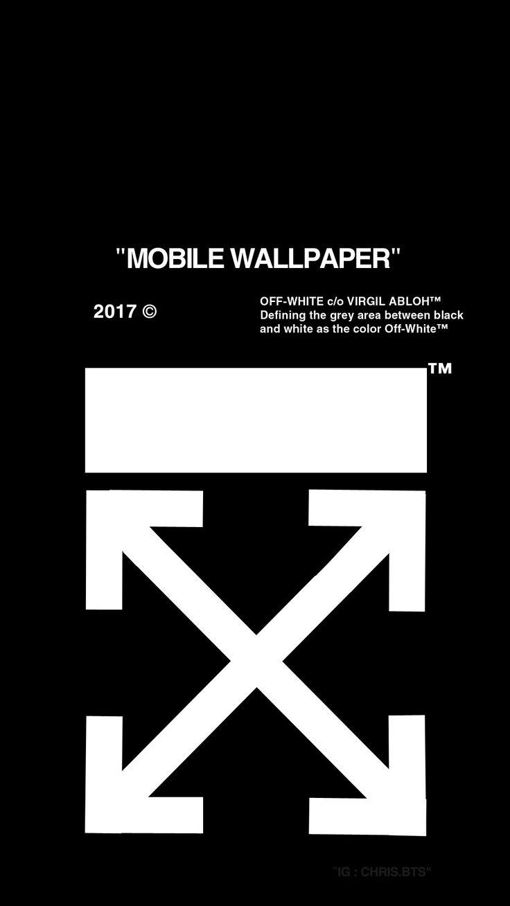 Phone & Celular Wallpaper : OFF-WHITE Black Wallpaper