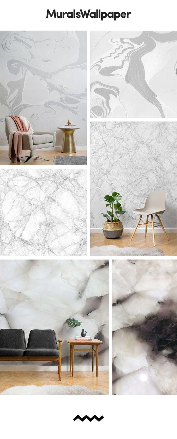 Living room wallpaper inspiration add a grey wallpaper for Lounge wallpaper inspiration