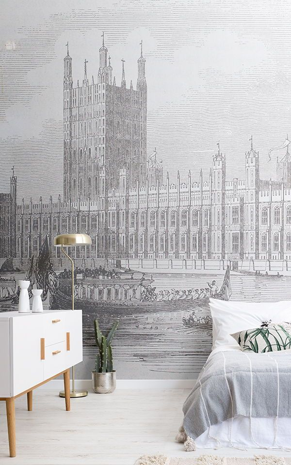 If you are looking for a mural with a touch of sophistication but completely uni...