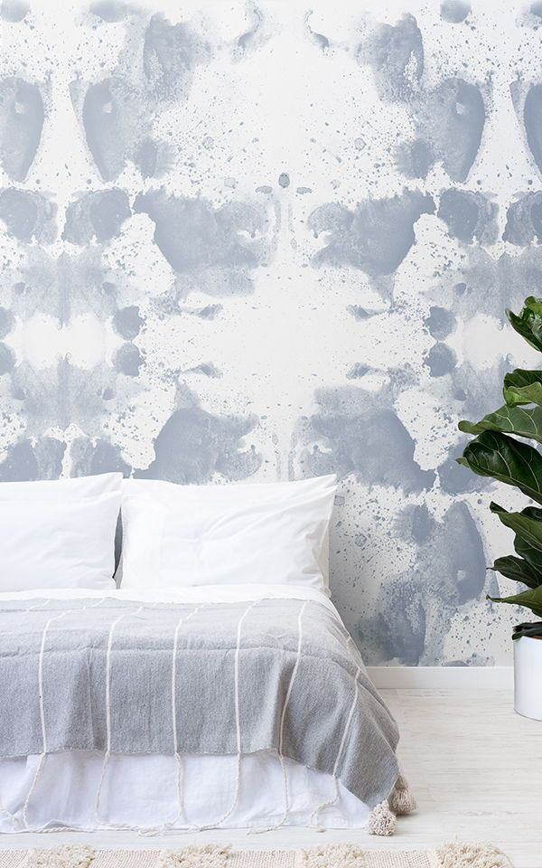 Create a white bedroom space with beautifully textured and iconic designed white...