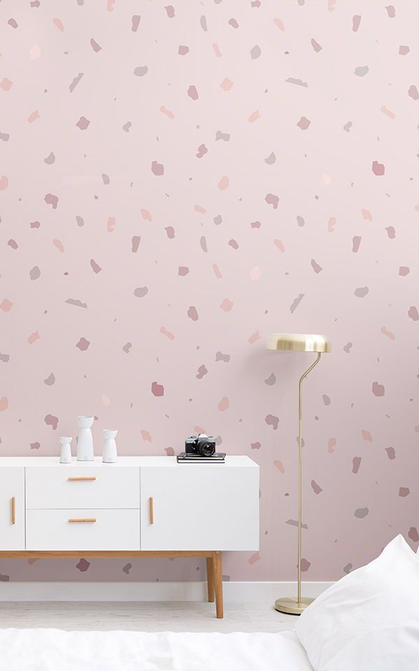 Bedroom Wallpaper Ideas Choose A Perfectly Pink Mural For Cute Girls And Get Inspire