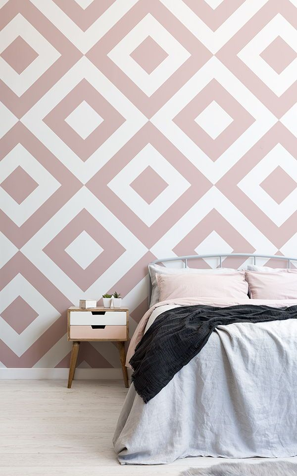 Bedroom Wallpaper Ideas : Choose A Perfectly Pink Wallpaper Mural For A  Cute Girls Bedroom And Get Inspireu2026