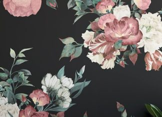 Floral wallpaper has made a comeback in the past few years and this year it has ...