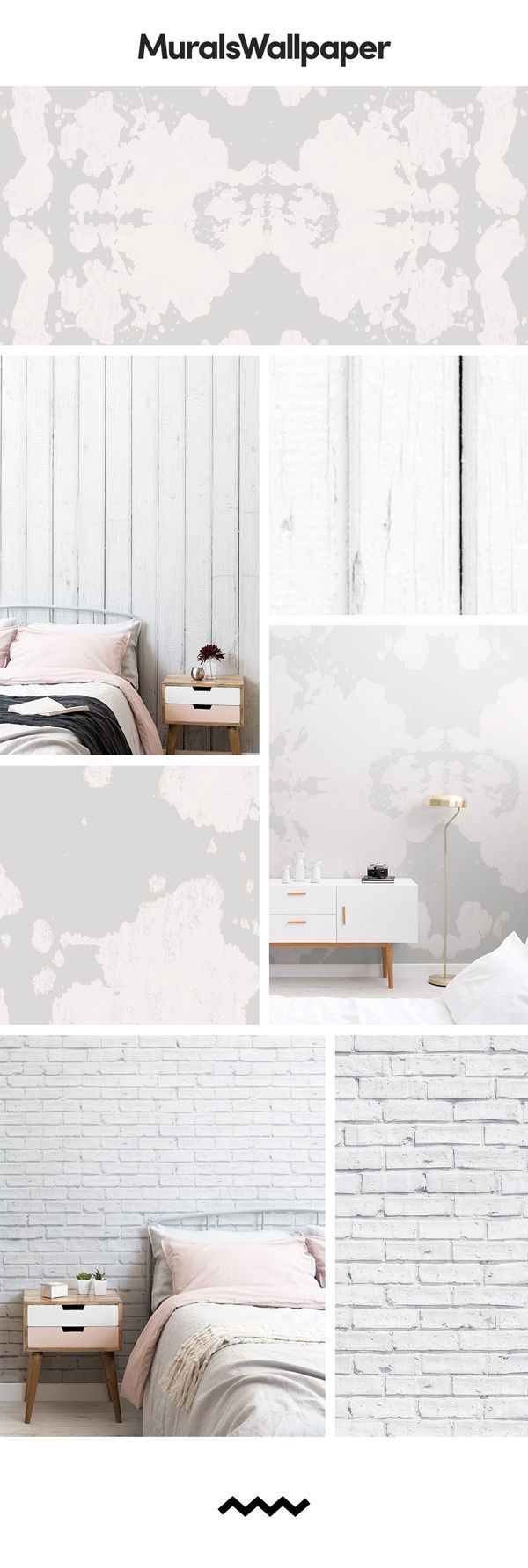 Brighten up any room with a shabby chic wallpaper and create the perfect shabby ...