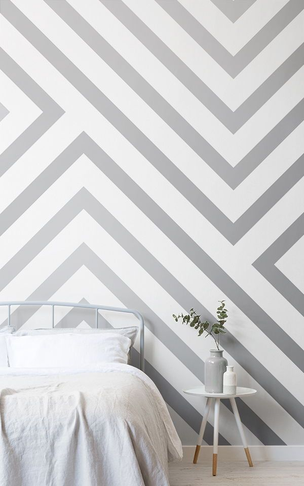 Create a modern grey bedroom style with these grey bedroom wallpapers and achiev...