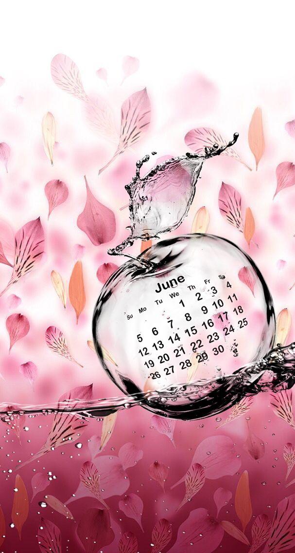 Wallpaper iPhone calendar