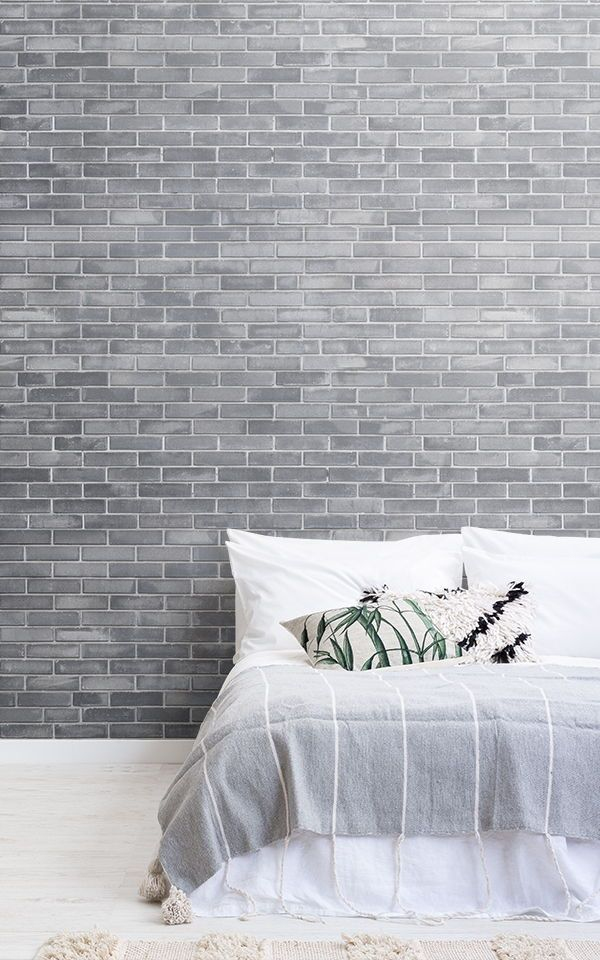 Create A Modern Grey Bedroom Style With These Wallpapers And Achiev