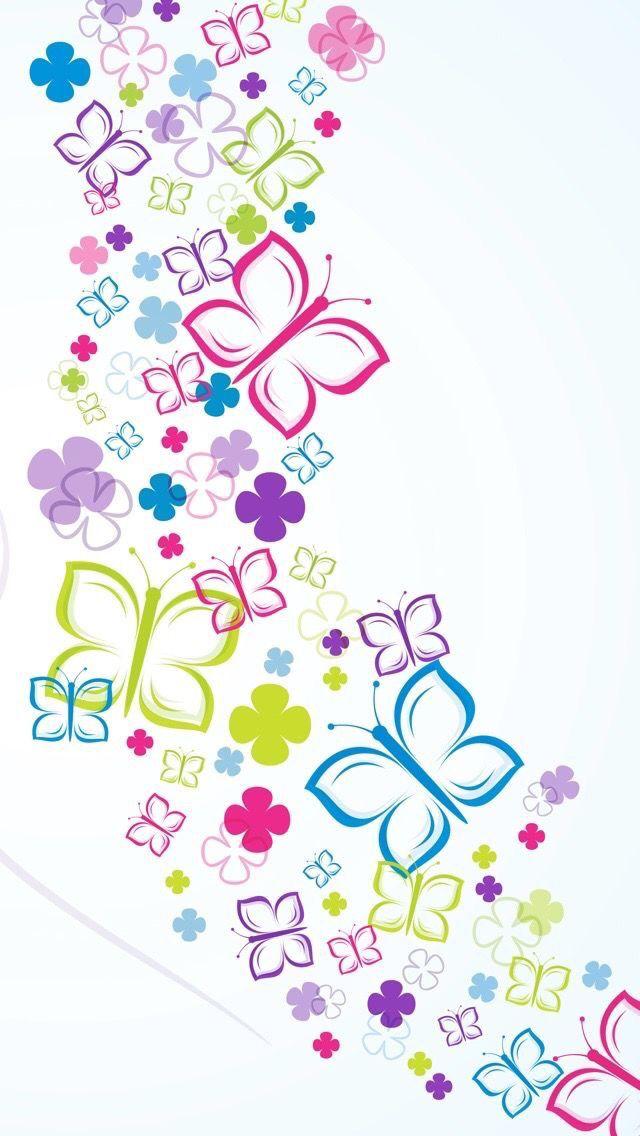 Wallpaper iPhone buterfile