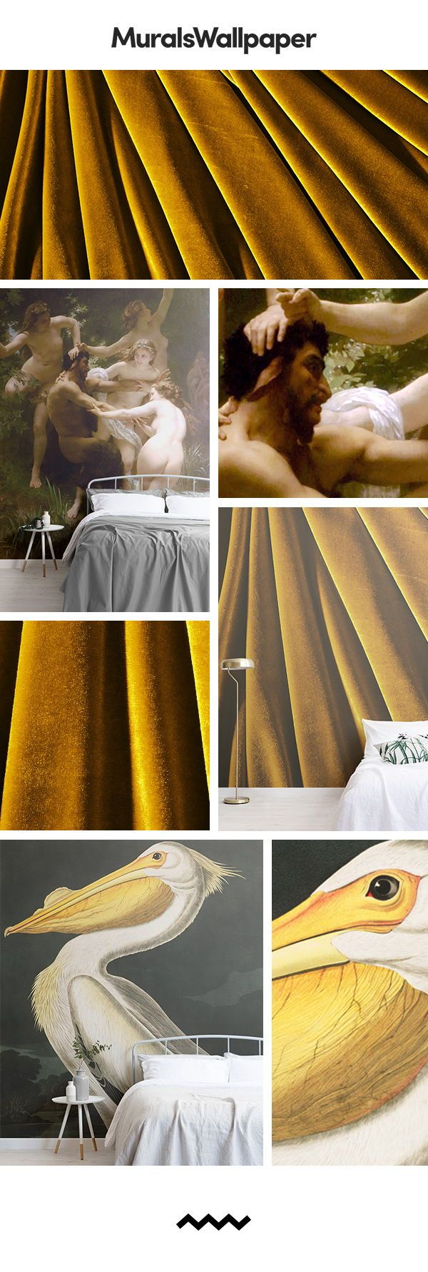 Add indulgence to your bedroom with these iconic luxury wallpapers and create an...