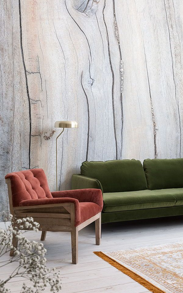 Living Room Wallpaper Inspiration Enhance The Cozy Corners Of Your Home With Wood Effect