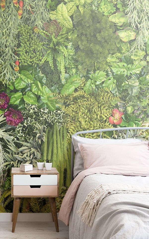 Create a beautiful botanical garden in your own bedroom with these vertical gard...