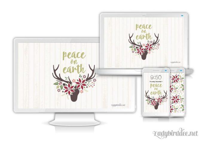 Hello December, it's time to switch your desktop wallpaper. Download your De...