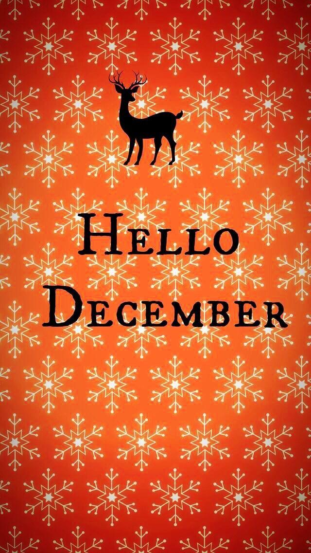 Wallpaper iPhone/hello December/winter time ⚪️