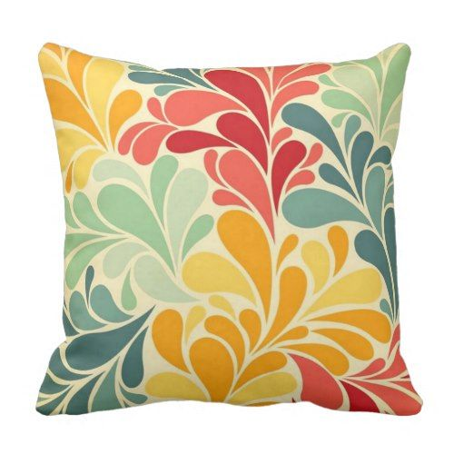 Coloured reasons throw pillow - decor diy cyo customize home