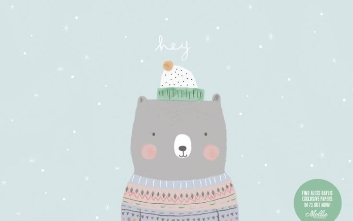Here's Aless Baylis' festive friend desktop wallpaper ✨❄️ Click through to...