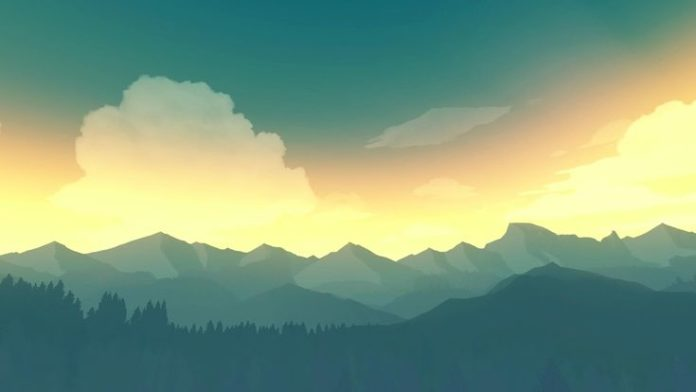 Firewatch is a beautiful game