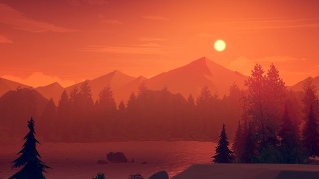 Firewatch Wallpaper Firewatch Is Burning Down Our Game Review
