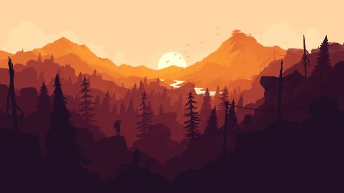 Gorgeous landscape illustrations from the newly released game Firewatch. Downloa...
