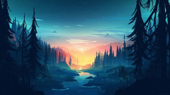Image result for FIREWATCH WALLPAPER