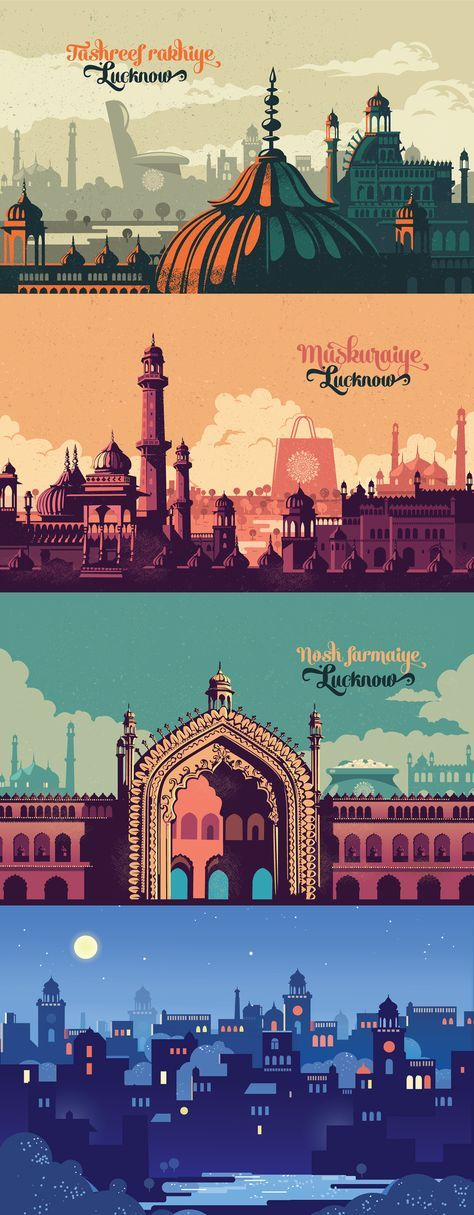 Lucknow is a city of contrasts, Caught between memories fo a glorious Nawabi pas...