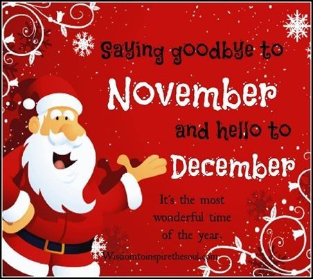 Goodbye November Hello December Pictures, Photos, and Images for ...