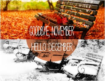 Goodbye Novemeber quotes months december november