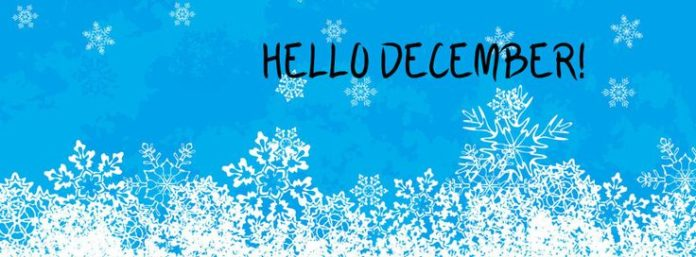 Hello December – Facebook cover