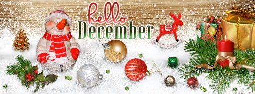 Hello December Facebook Cover