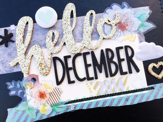 Hello December, let's do this.