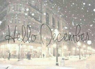 Hello December winter christmas xmas christmas pictures christmas ideas merry xm...