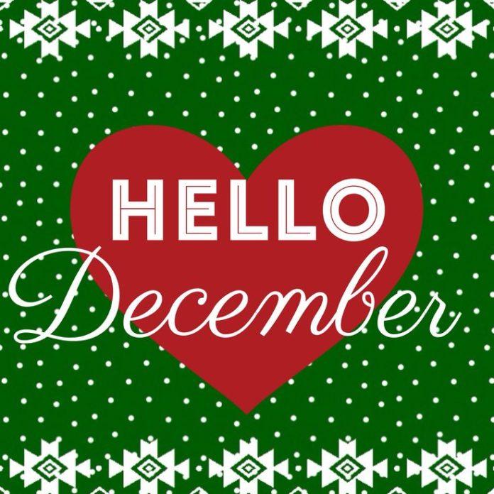 Hello #december ❤️