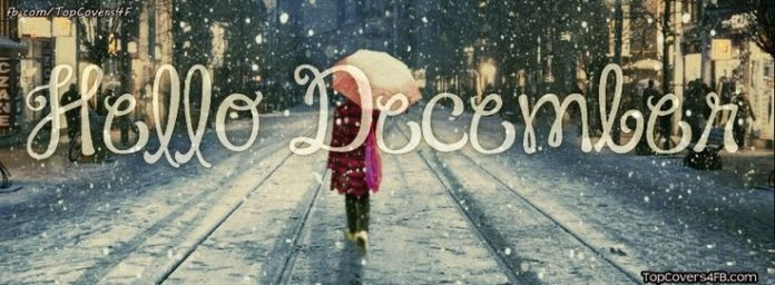 This is one of the best Hello December facebook covers for your facebook covers....