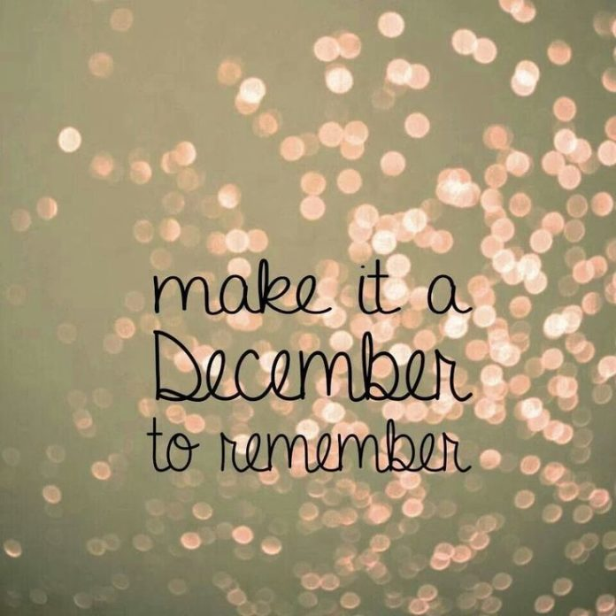 Yeyyyyy December is coming soon...