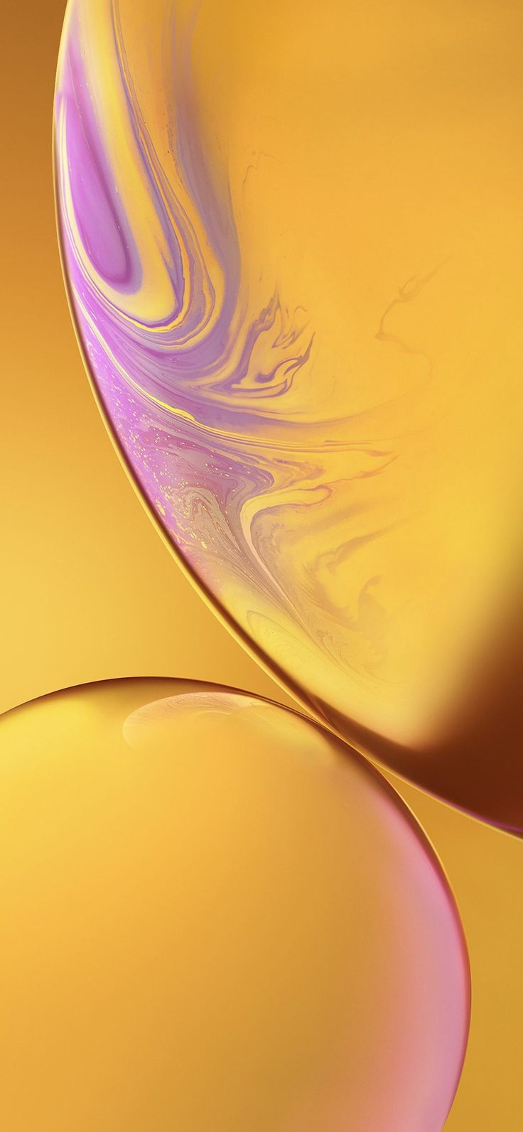Iphone X Wallpaper Bg35 Iphone Xs Max Apple Official Art Yellow