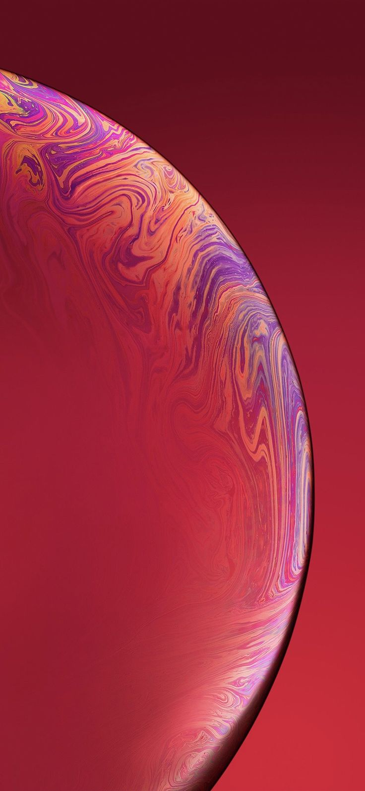 Iphone X Wallpaper Bg43 Red Apple Iphone Xs Max New Official Art