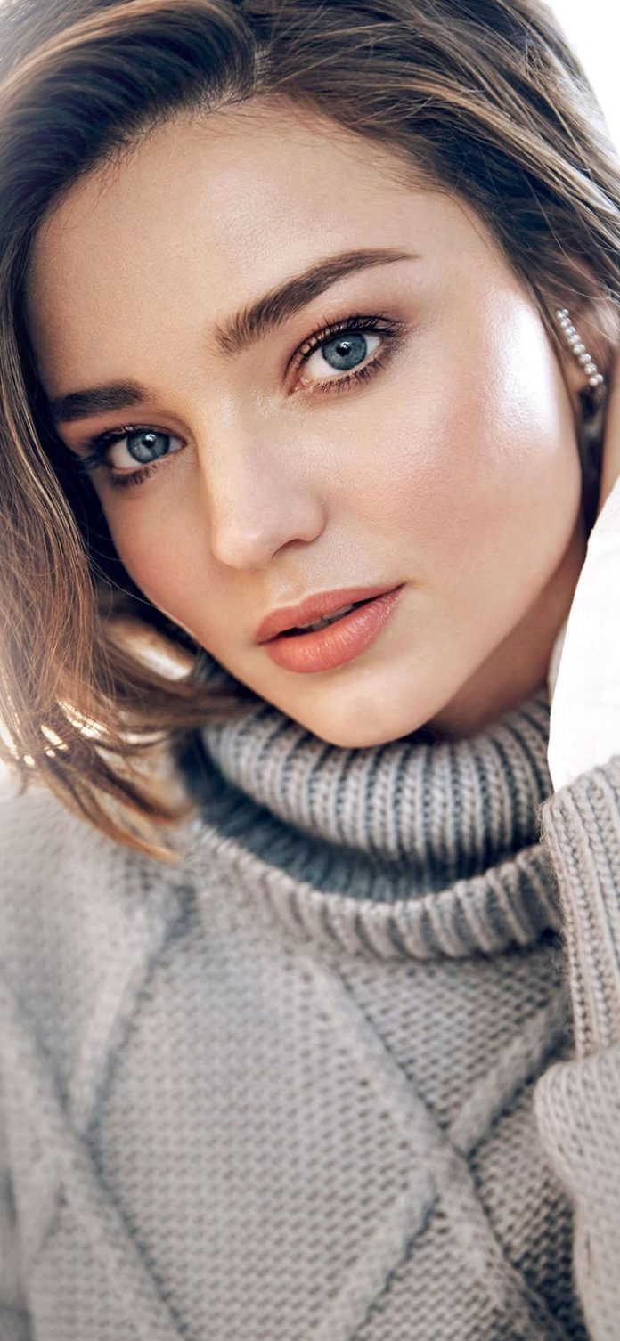 hq89-miranda-kerr-girl-model-face via iPhoneXpapers.com - Wallpapers for iPhone ...