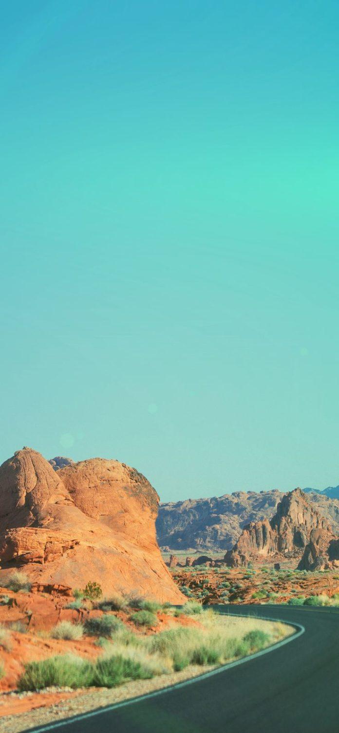 ms99-dessert-curves-mountain-nature-flare-green via iPhoneXpapers.com - Wallpape...