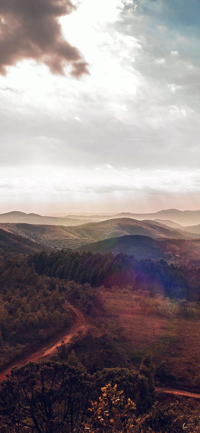 mt56-landscape-best-mountain-sky-red-flare via iPhoneXpapers.com - Wallpapers fo...