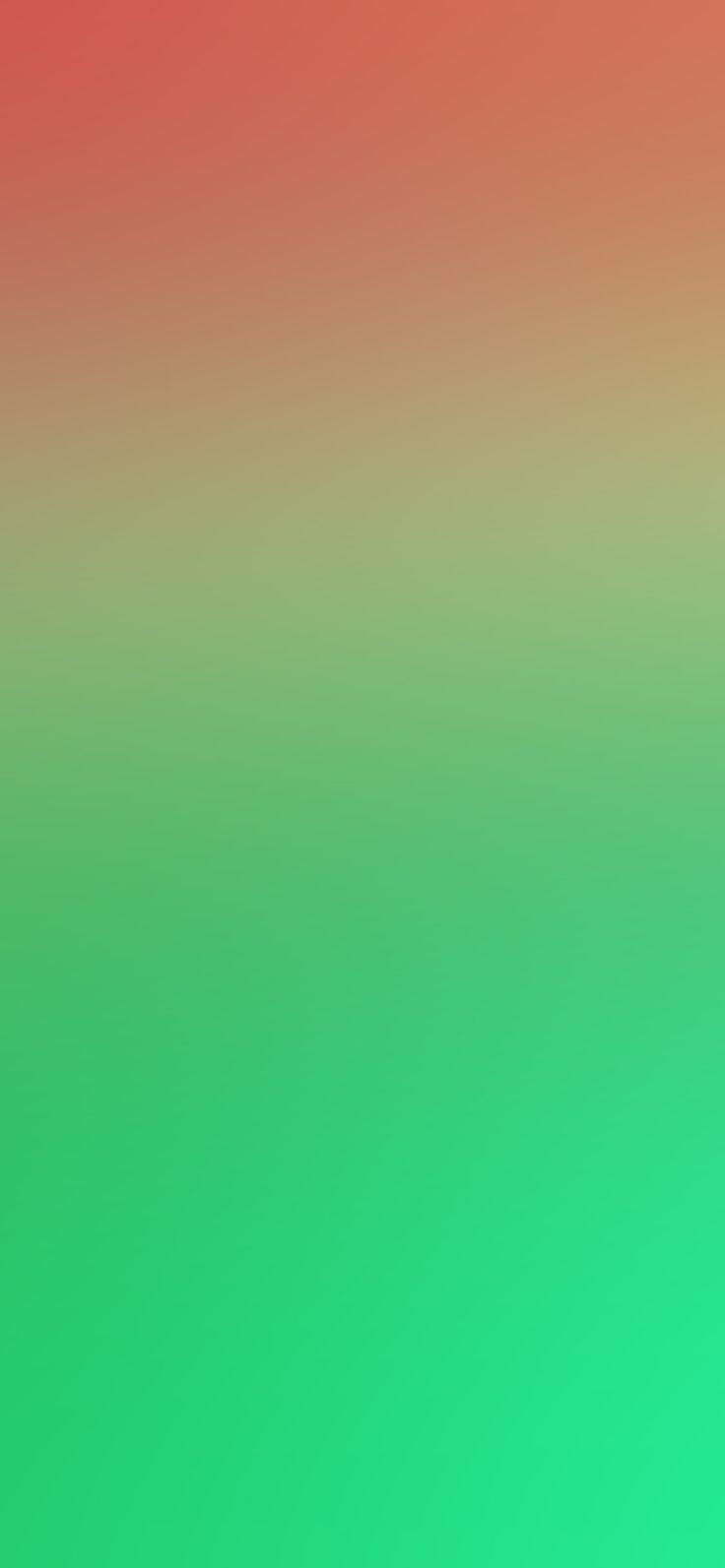 Iphone X Wallpaper Sn20 Green Red Water Melon Blur Gradation Via